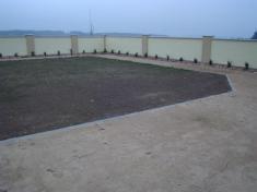 Otevření opraveného hřbitova