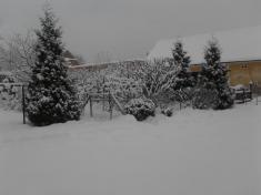 Zima vKostelci